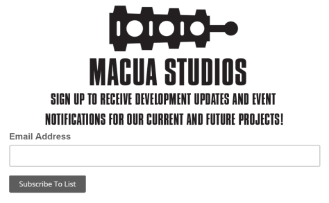 Macua Studio Newsletter