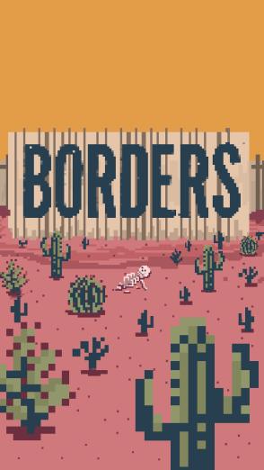 Borders wallpaper Title